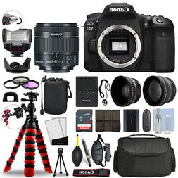 Canon EOS 90D DSLR Camera with 18-55mm STM+ 16GB 3 Lens Ulti