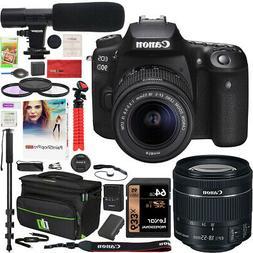 Canon EOS 90D DSLR Digital SLR Camera + EF-S 18-55mm IS STM