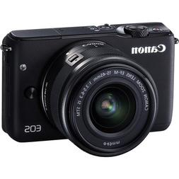 Canon EOS M10 Mirrorless Digital Camera with 15-45mm Lens  -
