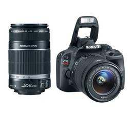 Canon EOS Rebel SL1 18.0 MP CMOS Digital SLR with 18-55mm EF