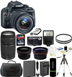 Canon EOS Rebel SL1 Digital SLR Camera with EF-S 18-55mm f/3