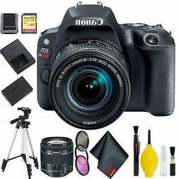 Canon EOS Rebel SL2 DSLR Camera +18-55mm Lens  w/ 64GB Memor
