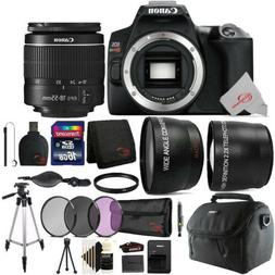 Canon EOS Rebel SL3 DSLR Camera with 18-55mm Lens Top Access