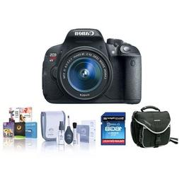 Canon EOS Rebel T5I DSLR Camera Bundle.USA. Value Kit with A