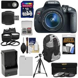 Canon EOS Rebel T5i Digital SLR Camera & EF-S 18-55mm IS STM