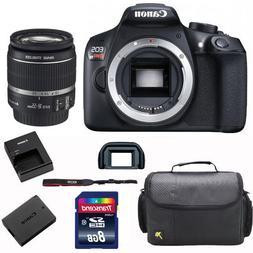 Canon EOS Rebel T6 /1300D DSLR Camera + 18-55mm Lens + 8GB C