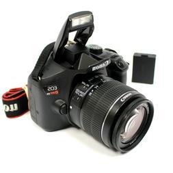 Canon EOS Rebel T6 18MP DSLR Camera w/ Canon 18-55mm IS II L