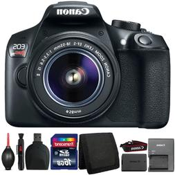 Canon EOS Rebel T6 Digital SLR Camera with 18-55mm Lens and