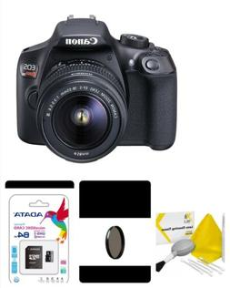 Canon EOS Rebel T6 Digital SLR Camera With 18-55mm- 64gb,Pl