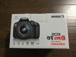 eos rebel t6 digital slr camera kit