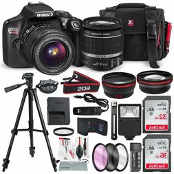 Canon EOS Rebel T6 DSLR Camera with EF-S 18-55mm f/3.5-5.6 i