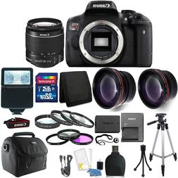 Canon EOS Rebel T6 DSLR Camera + EF-S 18-55mm IS II Lens Kit