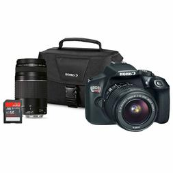 Canon EOS Rebel T6 DSLR Camera Lens Bundle with EF-S 18-55mm