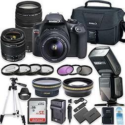 Canon EOS Rebel T6 DSLR Camera w/ EF-S 18-55mm is II Lens &