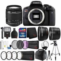 Canon EOS Rebel T6 18MP DSLR Camera w/ 18-55mm Lens & Ultima
