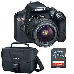 Canon EOS Rebel T6 DSLR Camera w/EF-S 18-55mm, 32GB SD Card