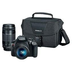 Canon EOS Rebel T6 Premium Kit Digital SLR Camera with 18-55