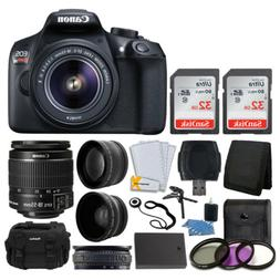 Canon EOS Rebel T6 Digital SLR Camera + Canon EF-S 18-55mm f