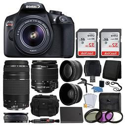 Canon EOS Rebel T6 Digital SLR Camera, 18-55mm EF-S Lens, EF