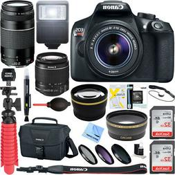 Canon EOS Rebel T6 Digital SLR Camera w/ EF-S 18-55mm IS + E