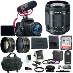 Canon EOS Rebel T6i DSLR Camera with 18 55mm Lens Video Crea