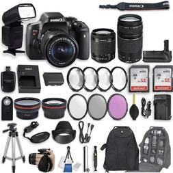 Canon EOS Rebel T6i DSLR Camera with EF-S 18-55mm f/3.5-5.6