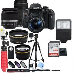 Canon EOS Rebel T6i DSLR Camera w/ EF-S 18-55mm & EF 75-300m