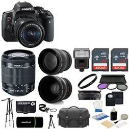 Canon EOS Rebel T6i DSLR CMOS Digital SLR Camera with EF-S 1
