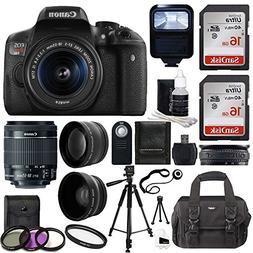 Canon EOS Rebel T6i DSLR CMOS Digital SLR Camera with EF S 1