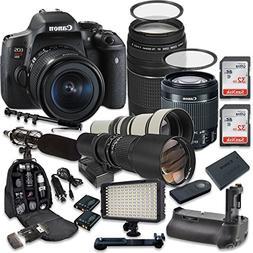 Canon EOS Rebel T6i 24.2 MP Digital SLR Camera with Canon EF