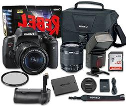 Canon EOS Rebel T6i 24.2 MP Digital SLR Camera Bundle with E