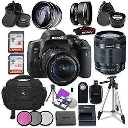 Canon EOS Rebel T6i 24.2MP WiFi Enabled Digital SLR Camera w