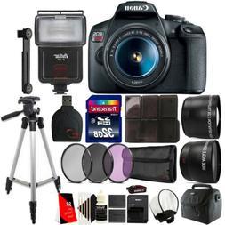 Canon EOS Rebel T7 DSLR Camera + 18-55mm Lens + 58mm Accesso