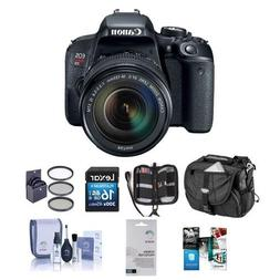 Canon EOS Rebel T7i DSLR with EF-S 18-135mm f/3.5-5.6 IS STM