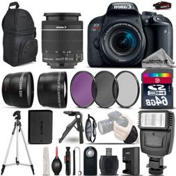 Canon EOS Rebel T7i DSLR Camera 800D + 18-55mm IS STM - Ulti