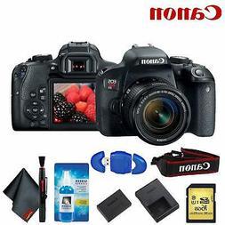 Canon EOS Rebel T7i DSLR Camera Accessory Kit Includes 18-55