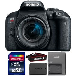 Canon EOS Rebel T7i DSLR Camera with 18-55mm IS STM Lens and