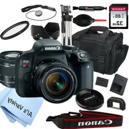 Canon EOS Rebel T7i DSLR Camera with 18-55mm f/3.5-5.6 STM L