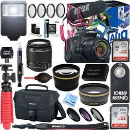 Canon EOS Rebel T7i DSLR Camera Video Creator Kit + 18-55mm