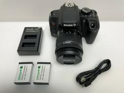Canon - EOS Rebel T7i DSLR Video Camera with EF-S 18-55mm IS