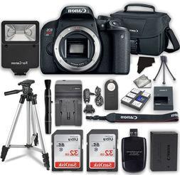 Canon EOS Rebel T7i Digital SLR Camera  + 2x 32GB Class 10 S