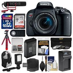 Canon EOS Rebel T7i Digital SLR Camera & EF-S 18-55mm IS STM