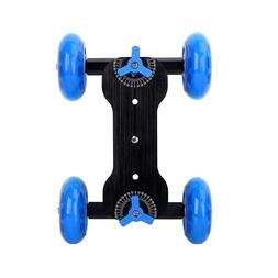 EP_ Motorized Rolling Slider Dolly Track Rail Car - Phone DS