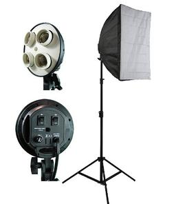ePhoto Photograpy Video DSLR Camera Lighting Kit Studio Phot