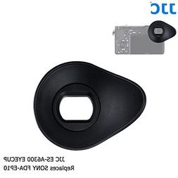 JJC ES-A6300 Oval Shape Soft Silicone 360º Rotatable Ergono