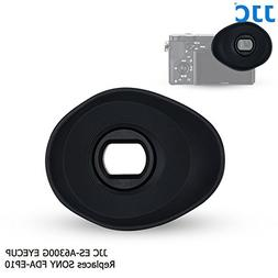 JJC ES-A6300G Large Oval Shape Soft Silicone 360º Rotatable