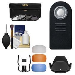 Essentials Bundle for Nikon D5500, D7100, D7200, D7500 DSLR
