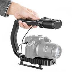 Sevenoak MicRig Handheld Stabilizer Handle Grip with Built-i