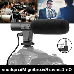 External Interview Video Recording Camera Microphone MIC For