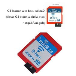EZ Share Wireless LAN WiFi Flash Memory Card Reader Adapter